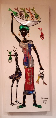 ColaCoca: Street and recyleArt by Moussa Diop made in Maroc