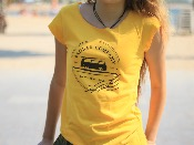 Camiseta manga corta algodón GOTS On The Road Again